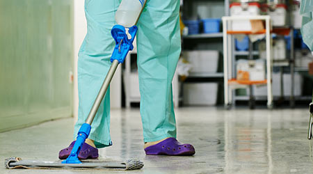 Cleaning Hospital