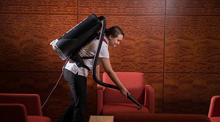 Study Finds Comparable Productivity With Upright And Backpack Vacuums