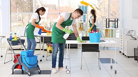 Office Cleaning Can Improve Productivity