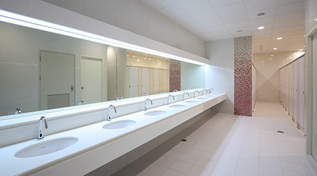 improving the user experience in public bathrooms