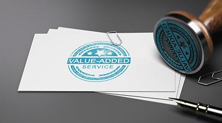 Value-added stamp