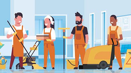 Janitor Illustration