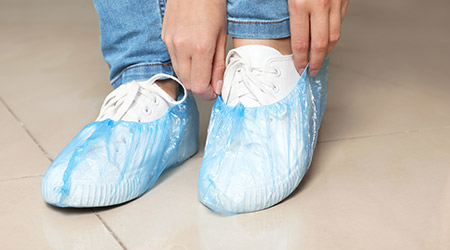 How Cleaning Staff Can Keep Shoes Clean