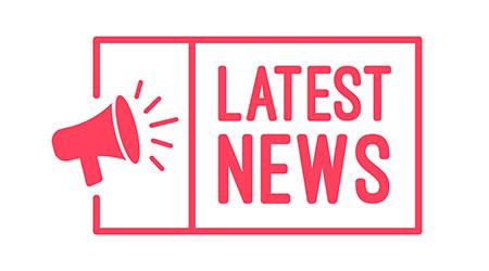 a megaphone sharing the latest news