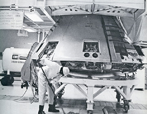 In the '60s, even the cleaning industry was caught up in the space race. At this NASA facility, one speck of dust could mean the difference between a successful space mission and a catastrophe.