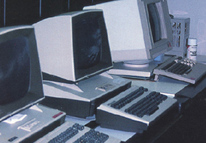 Computers were finally used by the majority of distributors in the '80s.